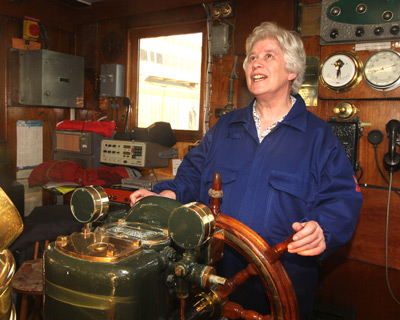 S.S Shieldhall Chief Engineer, Graham Mackenzie